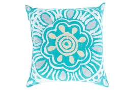 Accent Pillow-Mazarine Aqua Multi 20X20