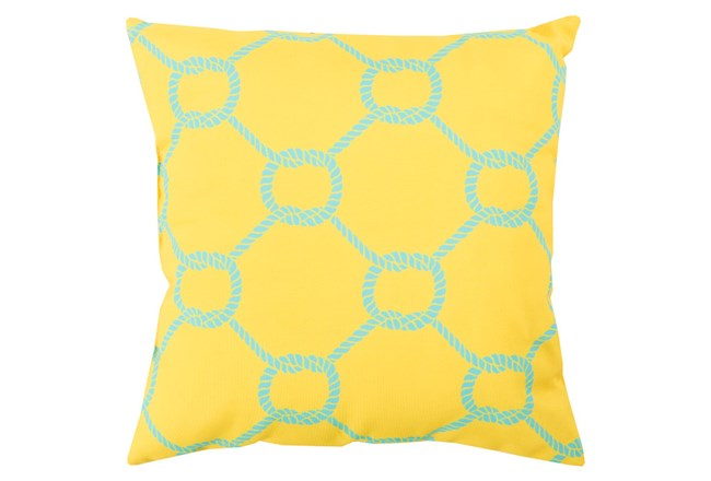 Accent Pillow-Lasso Yellow 20X20 - 360