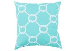 Accent Pillow-Lasso Sky Blue 18X18