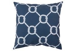 Accent Pillow-Lasso Navy 18X18