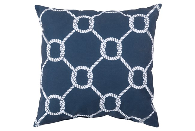 Accent Pillow-Lasso Navy 18X18 - 360