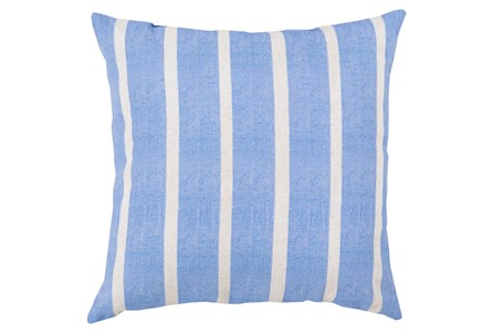 Accent Pillow-Dory Blue Stripe 20X20