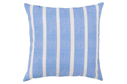 Accent Pillow-Dory Blue Stripe 26X26