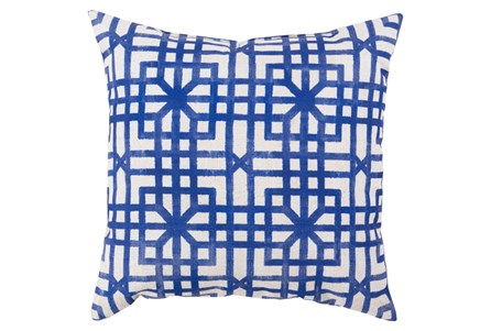 Accent Pillow-Darla Navy 26X26