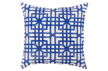 Accent Pillow-Darla Navy 26X26 - Main
