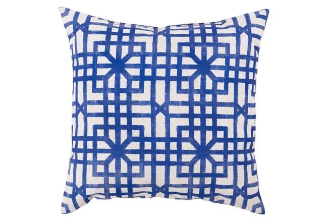 Accent Pillow-Darla Navy 26X26 - 360