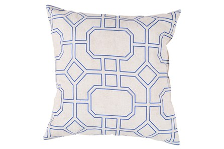 Accent Pillow-Sheldon Navy 26X26 - Main