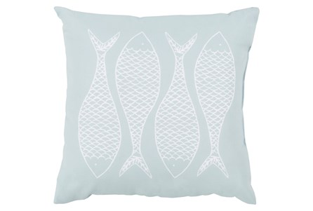 Accent Pillow-Poke Sky Blue 18X18