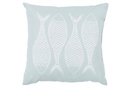 Accent Pillow-Poke Sky Blue 20X20