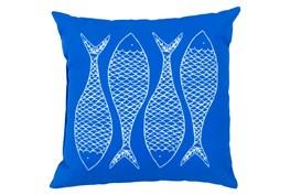 Accent Pillow-Poke Cobalt 20X20
