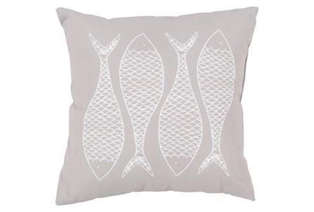 Accent Pillow-Poke Taupe 18X18