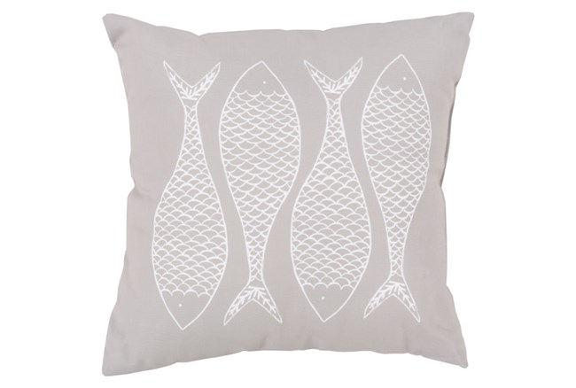 Accent Pillow-Poke Taupe 20X20 - 360