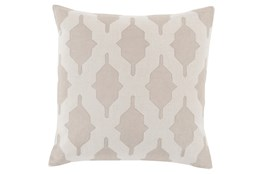 Accent Pillow-Hanne Beige 18X18