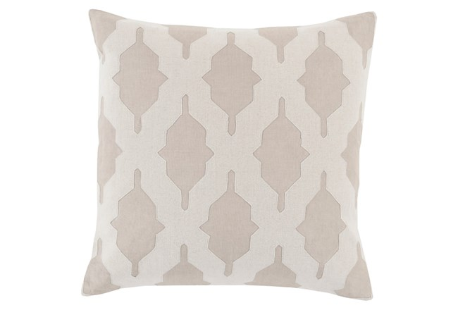 Accent Pillow-Hanne Beige 18X18 - 360