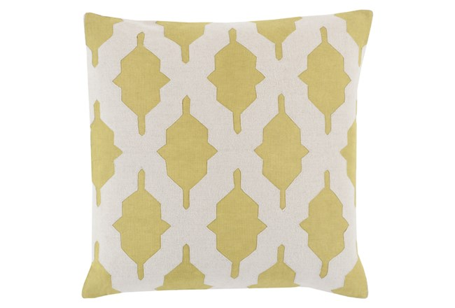 Accent Pillow-Hanne Lime 22X22 - 360
