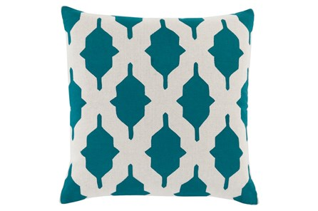 Accent Pillow-Hanne Teal 22X22 - Main