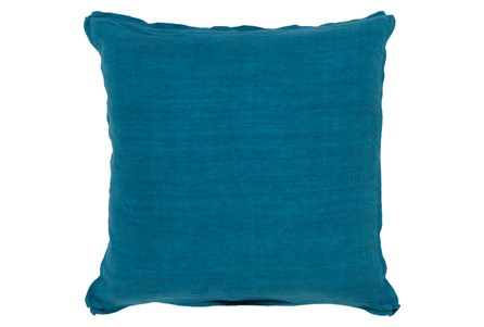 Accent Pillow-Elsa Solid Teal 18X18