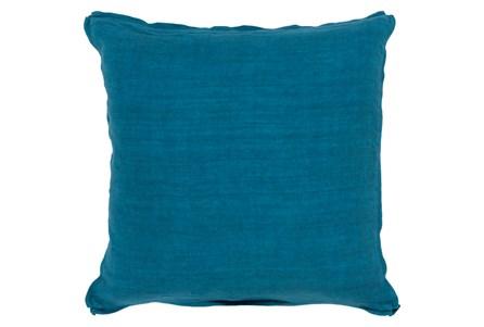 Accent Pillow-Elsa Solid Teal 22X22