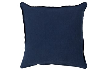 Accent Pillow-Tander Solid Navy 22X22