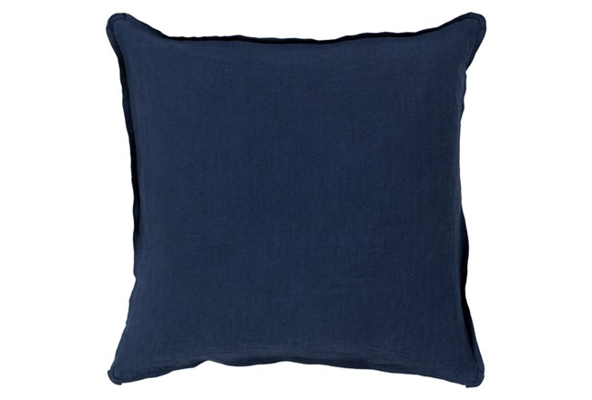 Accent Pillow-Tander Solid Navy 22X22 - 360
