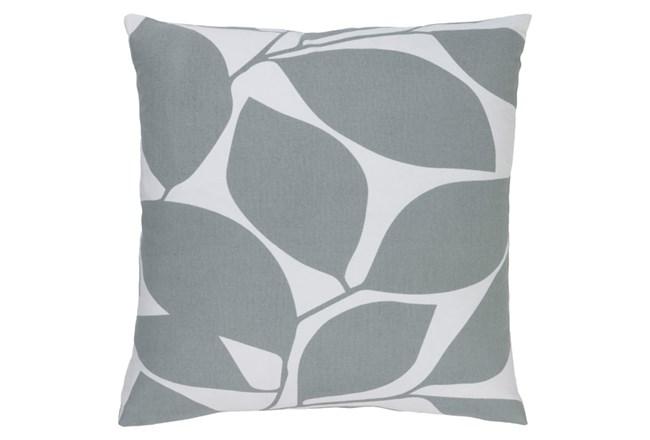 Accent Pillow-Leaflet Light Grey 20X20 - 360