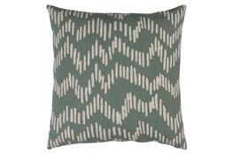 Accent Pillow-Charter Abstract Moss/Beige 18X18