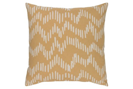 Accent Pillow-Charter Abstract Mocha/Beige 18X18