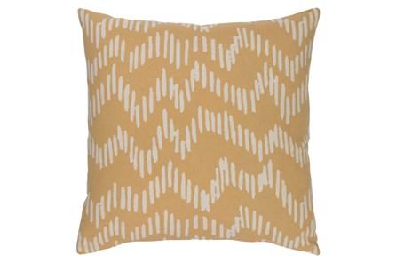Accent Pillow-Charter Abstract Mocha/Beige 18X18