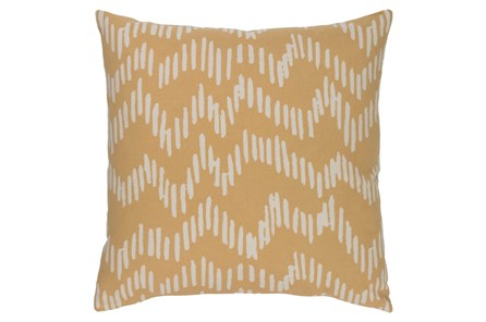 Accent Pillow-Charter Abstract Mocha/Beige 20X20