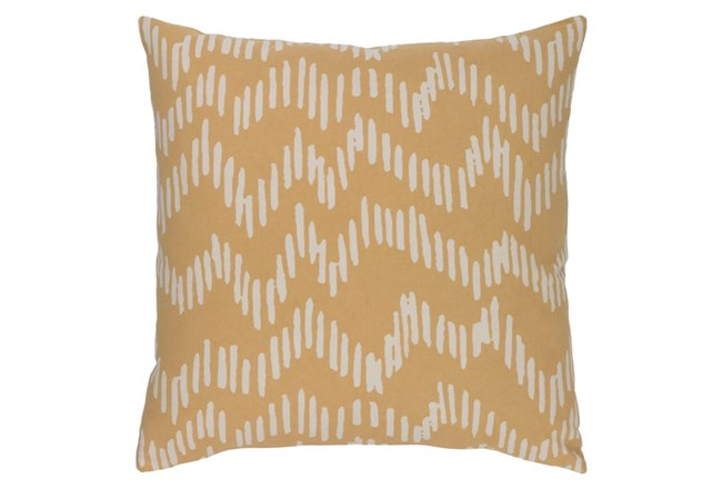 Accent Pillow-Charter Abstract Mocha/Beige 20X20 - 360
