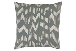 Accent Pillow-Charter Abstract Slate/Beige 20X20