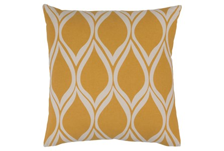 Accent Pillow-Nostalgia Geo Gold/Grey 18X18