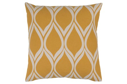 Accent Pillow-Nostalgia Geo Gold/Grey 20X20 - Main