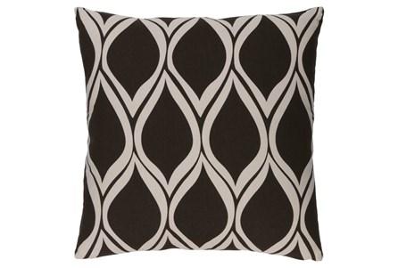 Accent Pillow-Nostalgia Geo Black/Grey 18X18