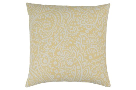 Accent Pillow-Paisley Butter 20X20 - Main