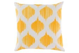 Accent Pillow-Deven Geo Sunflower/Ivory 18X18