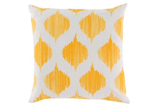 Accent Pillow-Deven Geo Sunflower/Ivory 18X18 - 360