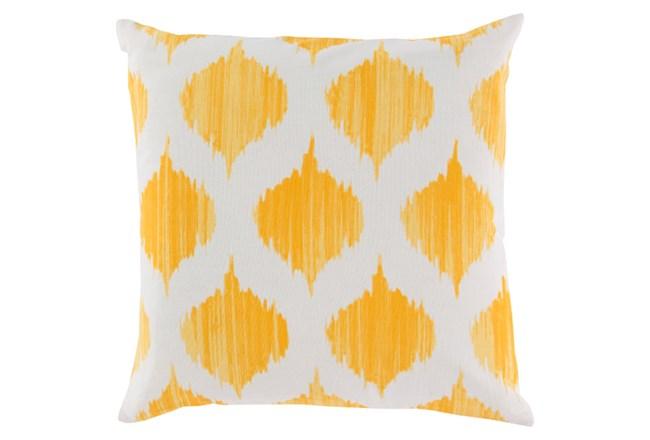 Accent Pillow-Deven Geo Sunflower/Ivory 22X22 - 360