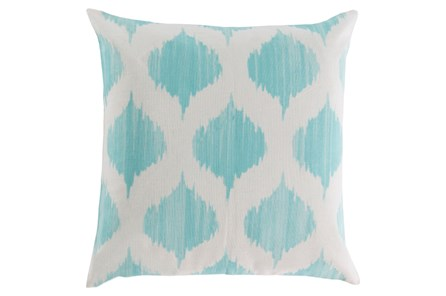 Accent Pillow-Deven Geo Mint/Ivory 18X18 - Main