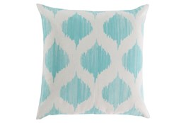 Accent Pillow-Deven Geo Mint/Ivory 22X22