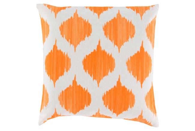 Accent Pillow-Deven Geo Orange/Ivory 18X18 - 360