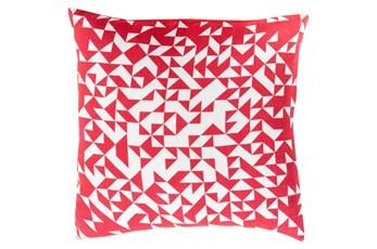 Accent Pillow-Eliza Pixel Magenta/Ivory 22X22