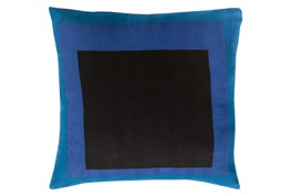 Accent Pillow-Seraphina Squares Black Multi 20X20