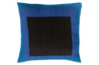 Accent Pillow-Seraphina Squares Black Multi 20X20