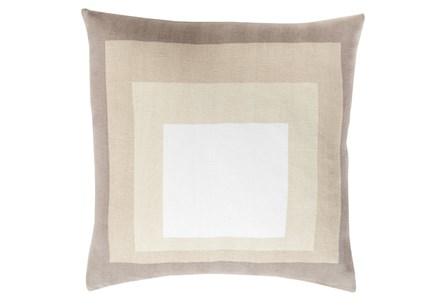 Accent Pillow-Seraphina Squares Natural Multi 22X22
