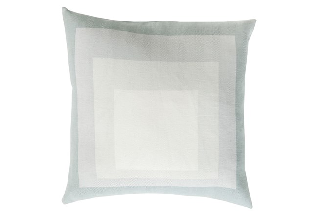 Accent Pillow-Seraphina Squares Ivory/Light Grey 22X22 - 360