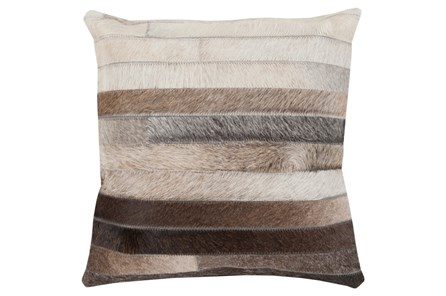 Accent Pillow-Pettinger Hide 22X22 - Main