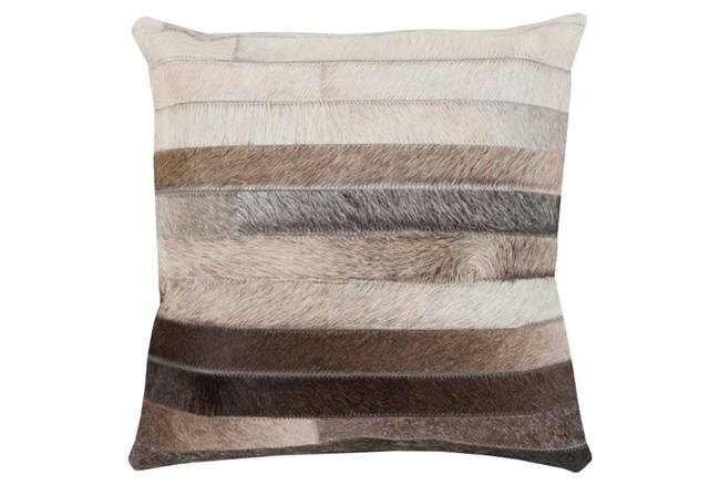 Accent Pillow-Pettinger Hide 22X22 - 360