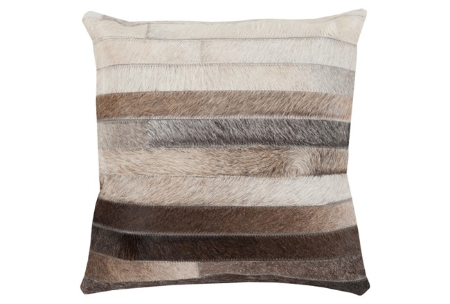 Accent Pillow-Pettinger Hide 22X22 - 360