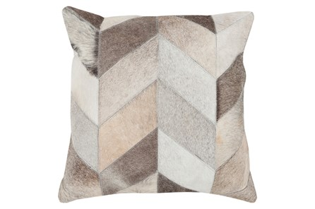 Accent Pillow-Brunel Hide 22X22 - Main